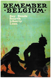 American World War I Liberty Bonds poster